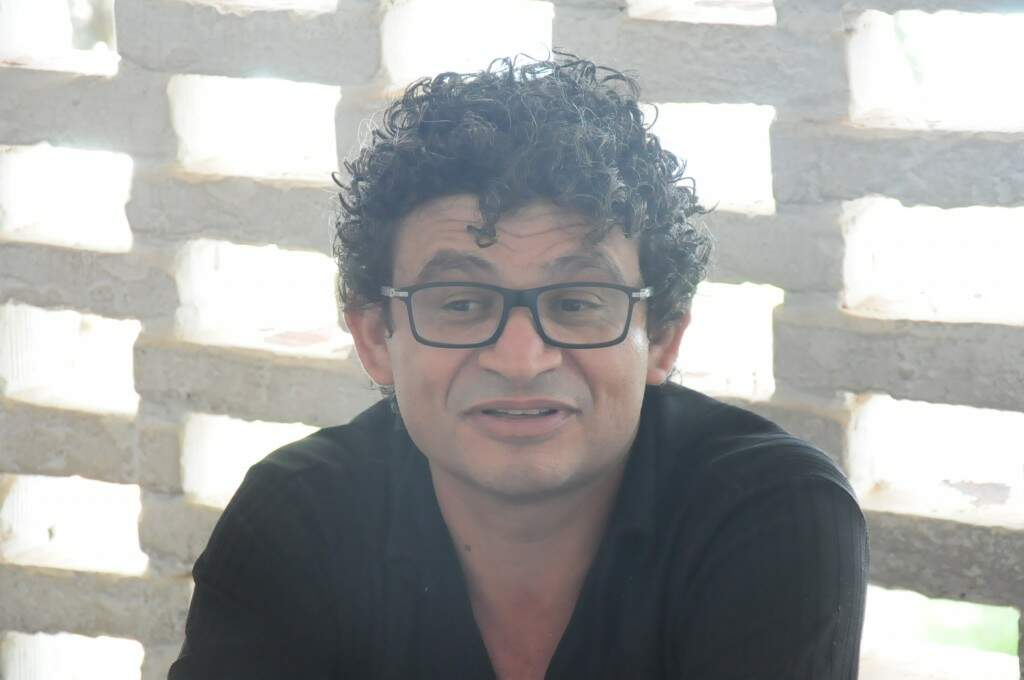 Daniel Lemos, diretor da escola Maria Constança (Foto: Paulo Francis)