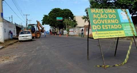Governo vai investir R$ 11 milhões no recapeamento de ruas em Corumbá