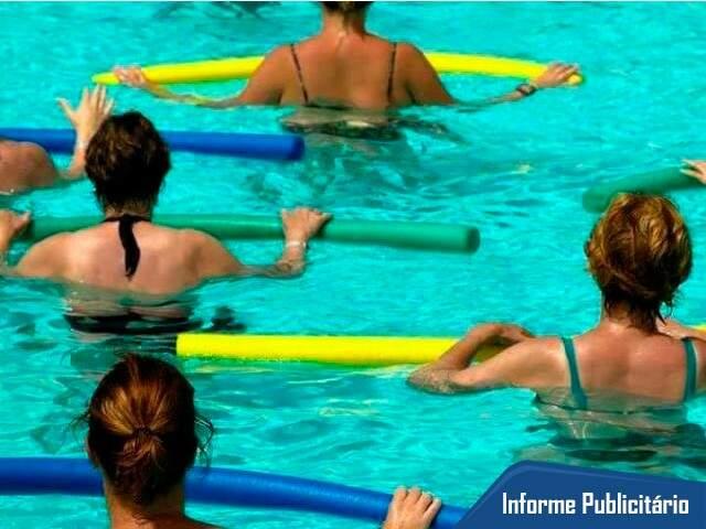 Hidroginástica é uma das modalidades oferecidas pela GP Swim.