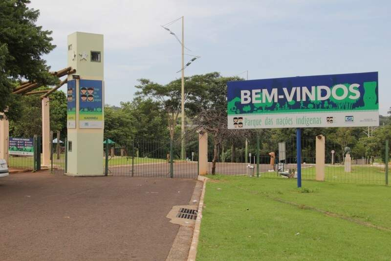 Parque das Nações é o maior de Campo Grande. (Foto: Marcos Ermínio)