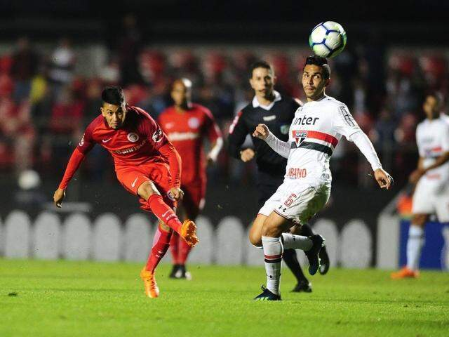 Com o empate o São Paulo assumiu a vice-liderança da tabela, com 17 pontos. Já o Internacional permanece em quinto, com 16. (Foto: Internacional FC)