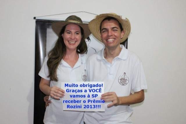 Douglas e a esposa, Arlene. (Foto: Divulgação)