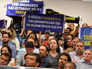 Em sessão tumultuada, deputados aprovam mudanças no Fundersul