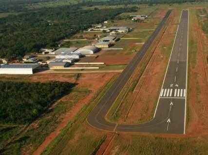 Governador e Prefeito entregam obra de reforma do aeroporto Santa Maria