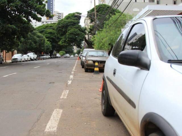 Briga ocorreu na Rua Dom Aquino, perto da Padre João Cripa. (Foto Marina Pacheco)