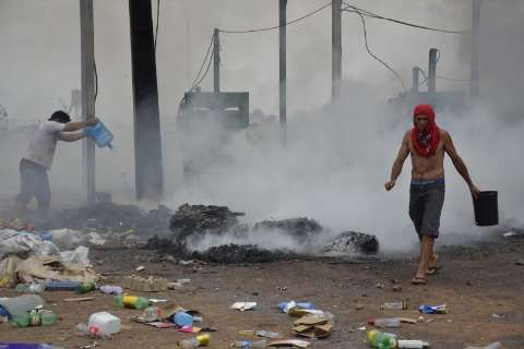 Com prejuízo de R$ 150 mil, catadores suspeitam de incêndio criminoso
