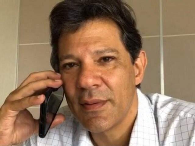 Haddad exaltou em entrevista a rádio parentesco contestado por advogado. (Foto: Facebook/Reprodução)