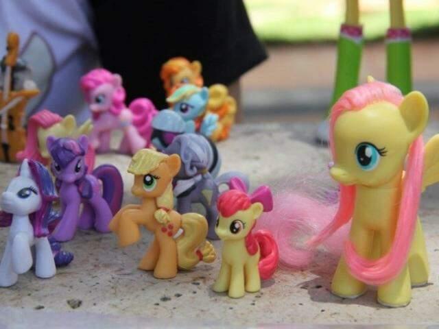 "Desenho infantil My Little Pony tem personagens ""fofinhos"". (Foto: Marcos Ermínio)"