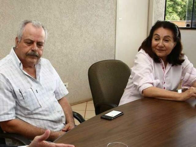João Fava Neto, ex-homem de confiança de Délia Razuk, estava preso no Centro de Triagem, em Campo Grande (Foto: Arquivo)