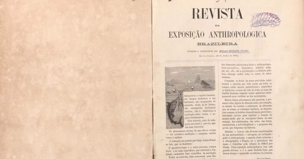 Revista da Exposição Antropológica Brasileira, de 1882 (Reprodução)