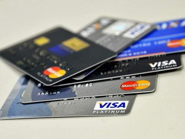 Cartões de crédito das principais bandeiras do país. (Foto: Marcello Casal Jr/Agência Brasil)