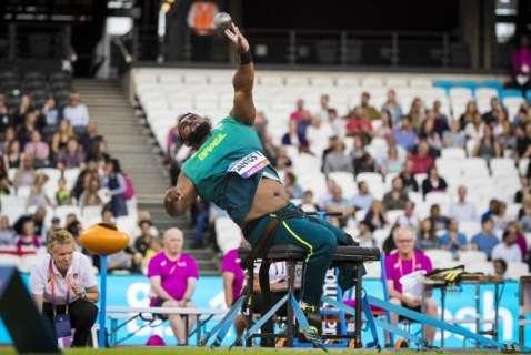 Brasileiro conquista primeiro ouro no Mundial Paralímpico em Londres