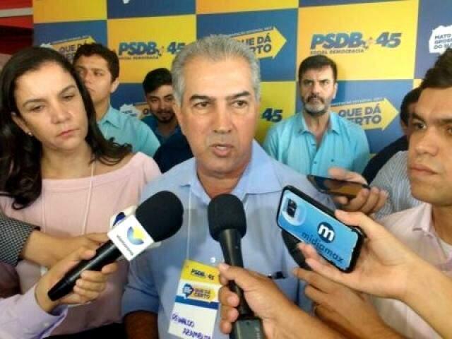 Reinaldo Azambuja disputará a reeleição pelo PSDB e aguarda confirmação de aliados. (Foto: Arquivo)