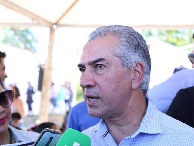 Reinaldo Azambuja em Bonito (Foto: Kisie Ainoã)