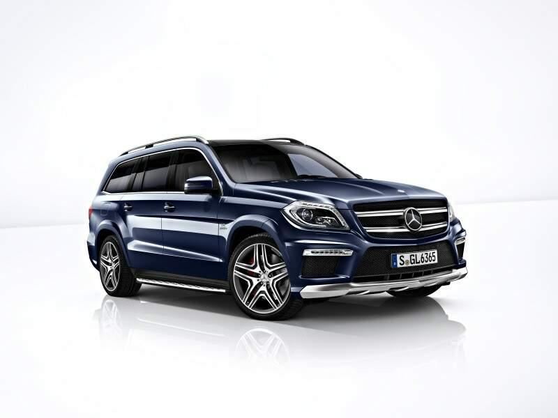 Mercedes-Benz apresenta a nova geração da classe GL no Brasil