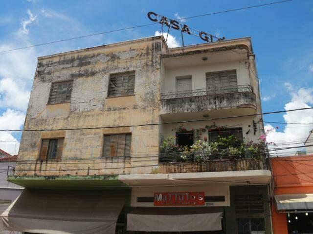 Casa Glória está entre os patrimônios que serão catalogados no projeto. (Foto: Arquivo/Marcos Ermínio)