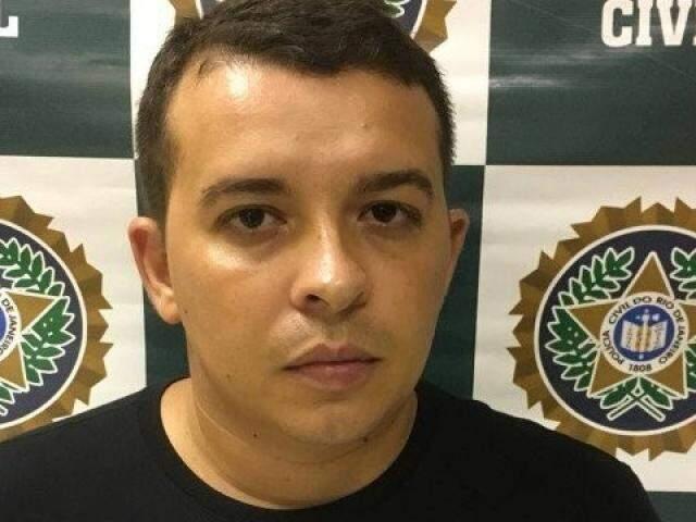 """Elton Leonel Rumich da Silva, o """"Galã"""", foi preso terça à noite em Ipanema (Foto: Divulgação)"""