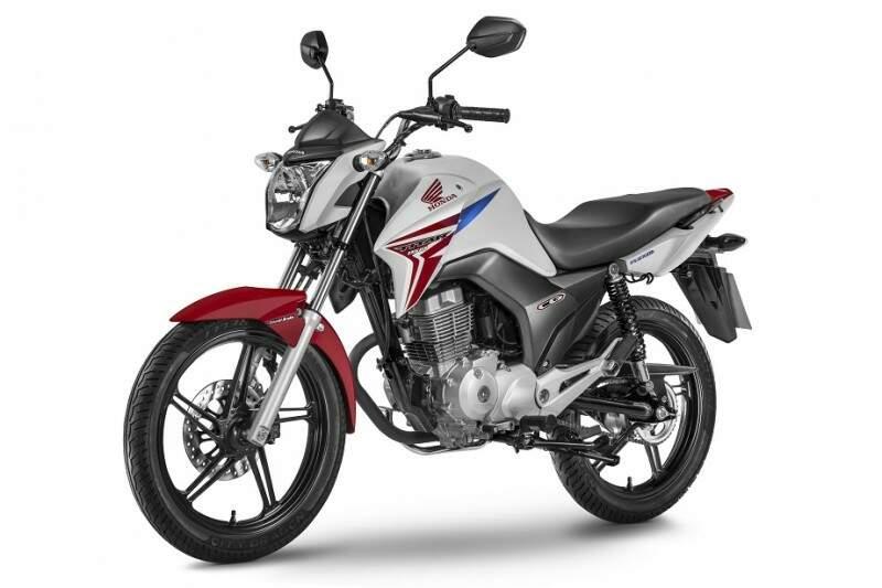 Honda lança primeira motocicleta de baixa cilindrada com sistema de freios CBS