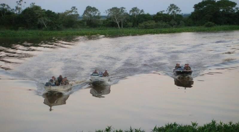 Fiscalização nos rios está intensificada a partir de hoje até 2 de março. (Foto: Divulgação)