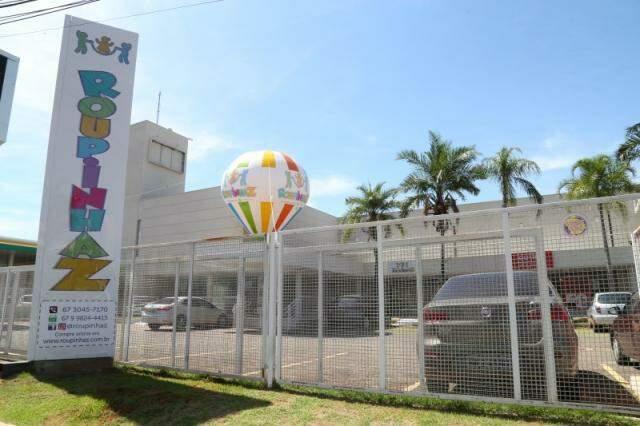 loja fica na Avenida Afonso Pena, 5154, na galeria em frente ao Shopping Campo Grande.