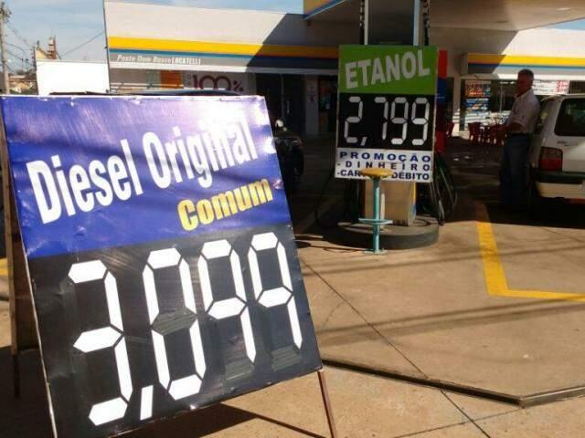 Queda nos preços dos combustíveis ajudou a reter inflação (Foto: Renata Volpe Hadad)
