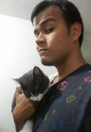Alisson com Geraldo.