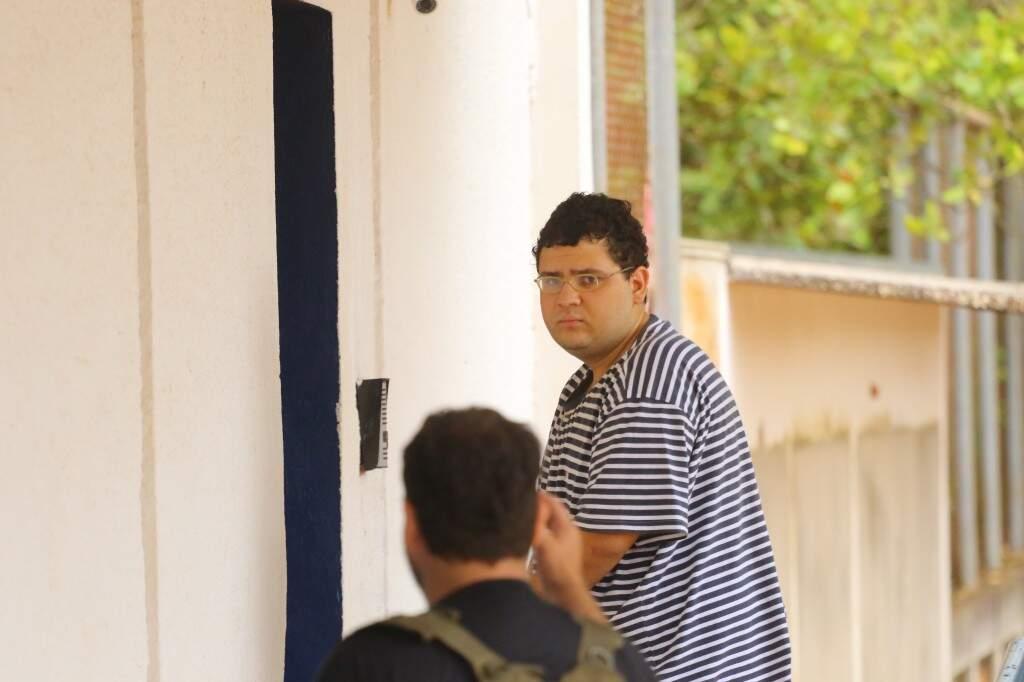 João Pedro se apresentou a polícia no dia 4 de novembro e foi liberado dois dias depois (Foto: André Bittar)