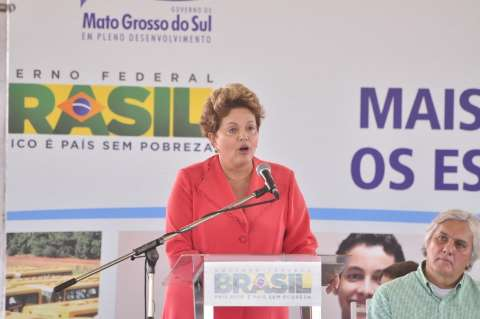 """""""Acabou o complexo de vira-lata"""", diz presidente Dilma"""