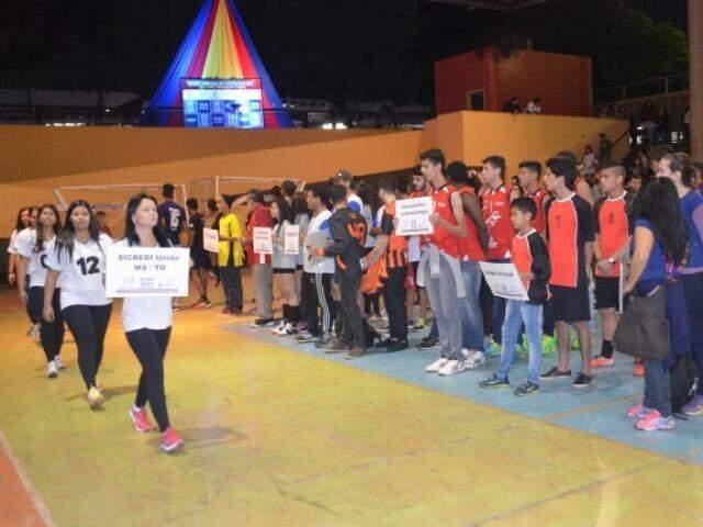 Competição reunirá mais de 2 mil atletas em Campo Grande neste ano (Foto: PMCG/Divulgação)