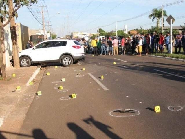 Primeiro crime de pistolagem em Campo Grande resultou na morte de Ilson Martins de Figueiredo. (Foto: Saul Schramm)