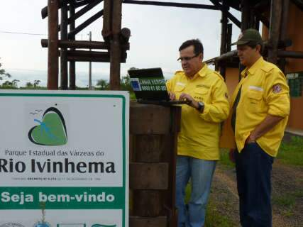 Ibama vai implantar base do PrevFogo no Parque das Várzeas em Ivinhema