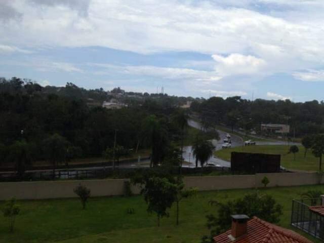 Registro da Avenida Interlagos, após chuva rápida na tarde deste sábado. (Foto: Direto das Ruas).
