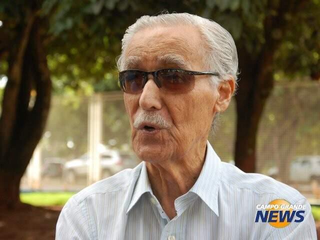 Wilson Barbosa Martins, ex-governador, internado desde a última quinta-feira no Proncor (Foto: Campo Grande News/Arquivo)