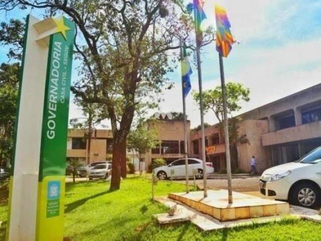 Prédio da Governadoria, em Campo Grande (Foto: Arquivo)