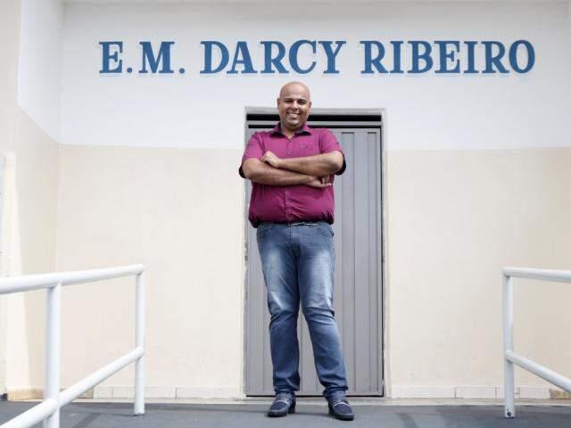 Sonho de Diego é ter uma ONG. (Foto: Daniel Martins/Secretaria de Educação-Rio Preto)
