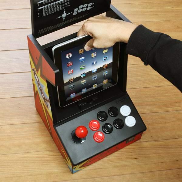 Suporte foi feito para iPad. (Foto: Divulgação)