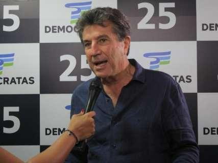 DEM quer vaga para Senado e vice para apoiar Reinaldo, diz Zauith