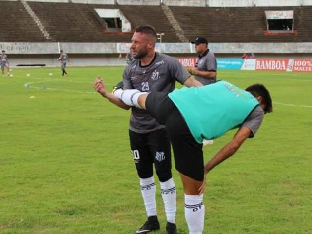 Rodrigo Grahl desfalca o Operário na partida desta quinta-feira pela Copa Verde (Foto: OFC/Divulgação)