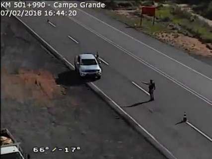 Em tempo real, câmeras auxiliam PRF a autuar motoristas infratores na BR-163