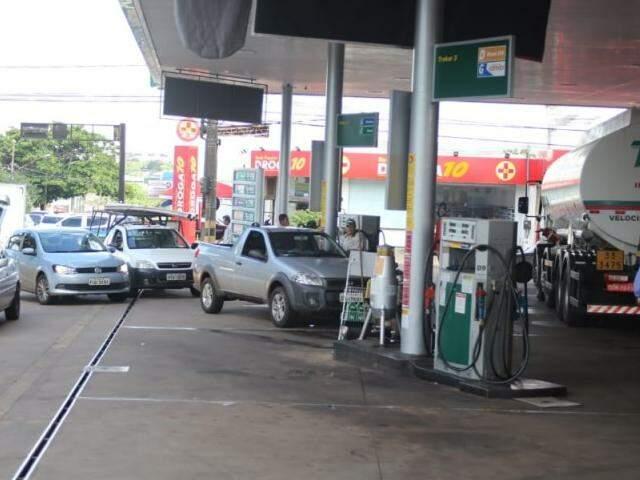 Campo Grande apresentou maior alta no litro do etanol (Foto: Paulo Francis/Arquivo)