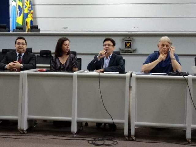 Audiência pública ocorreu na Câmara Municipal (Foto: Leonardo Rocha)