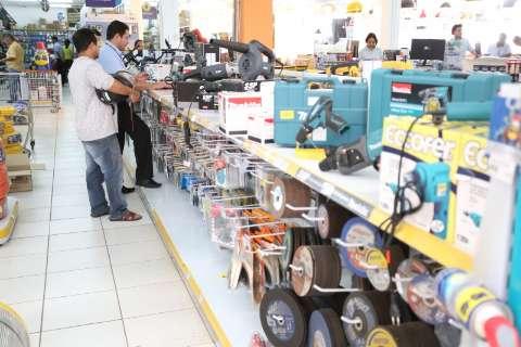 Vendas do comércio varejista tiveram alta de 1% no Estado