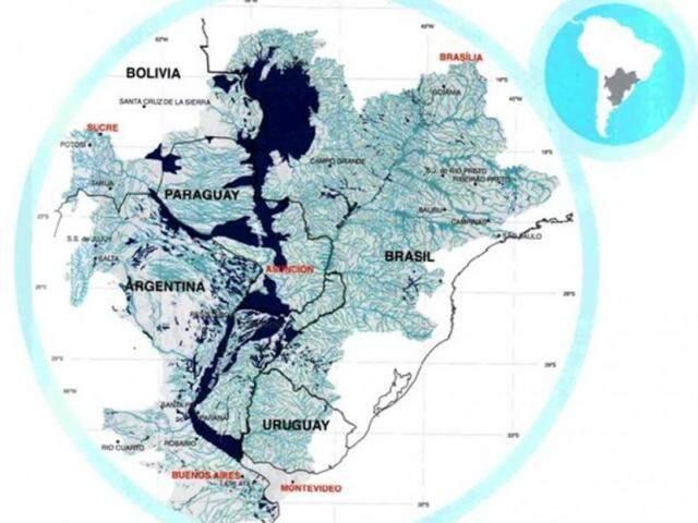Maior planície alagada do mundo, o Pantanal faz parte de um sistema de áreas úmidas do continente (Imagem: Reprodução/Ecoa)