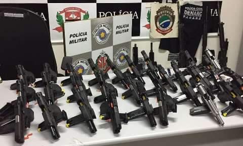 Preso no Paraguai, traficante enviou arsenal de MS para o Rio em maio