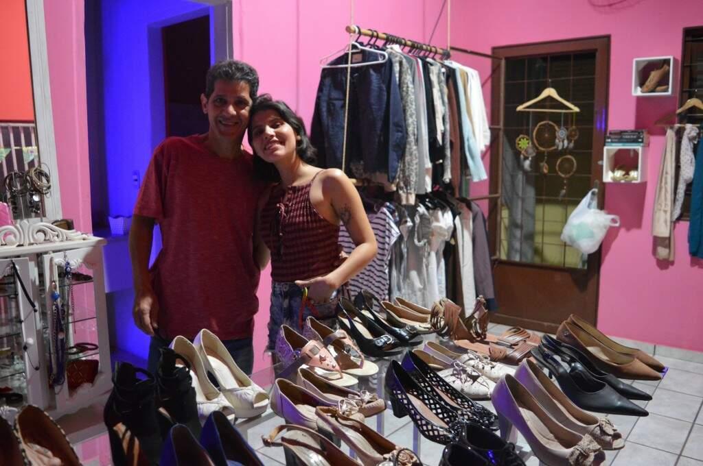 Ney Abalém, o paizão de Gabriela, que ajudou tudo a tomar forma. (Foto: Thaís Pimenta)