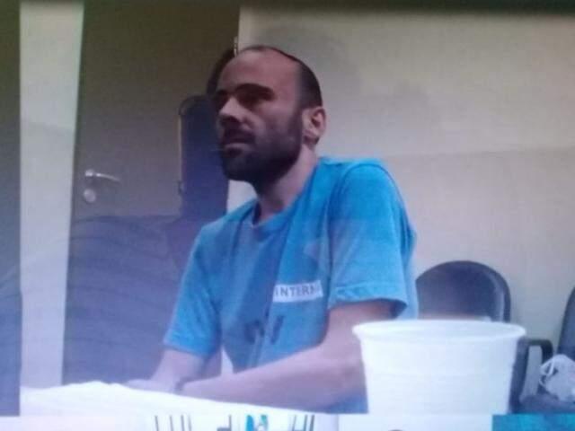 O piloto Felipe Ramos Morais está na penitenciária federal de Campo Grande (Foto: Direto das Ruas)