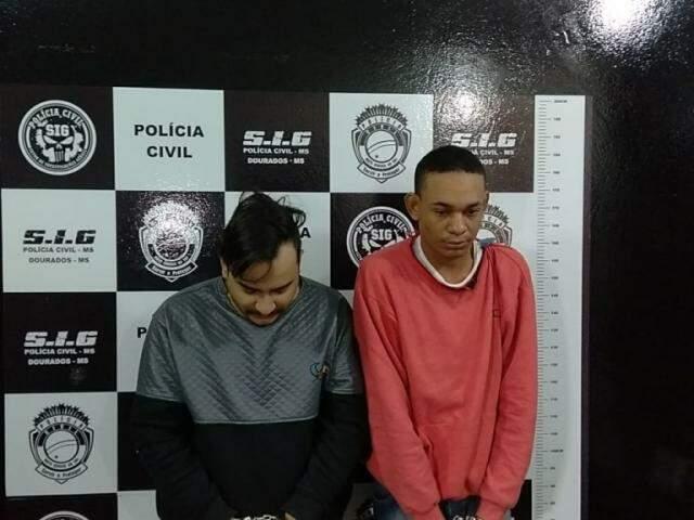 Alisson (de cabeça baixa) e Bruno estão presos por mortes ordenadas pelo PCC (Foto: Adilson Domingos)