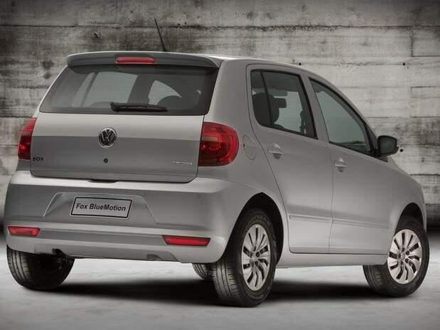VW lança Fox BlueMotion com motor de 3 cilindros