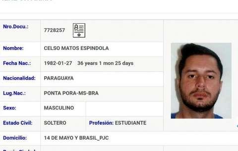 """Jornal paraguaio diz que """"Minotauro"""" é novo chefe do tráfico na fronteira"""