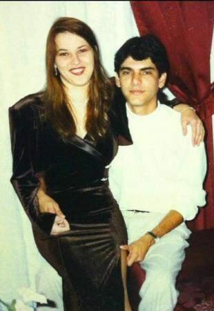 Foto de 1996, do casal. (foto: Acervo Pessoal)